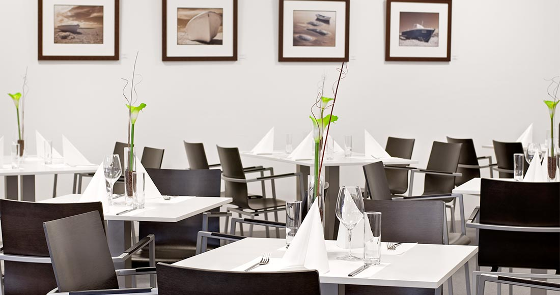 Messerestaurant Tische Klagenfurt - Fotograf Kurt Kuball