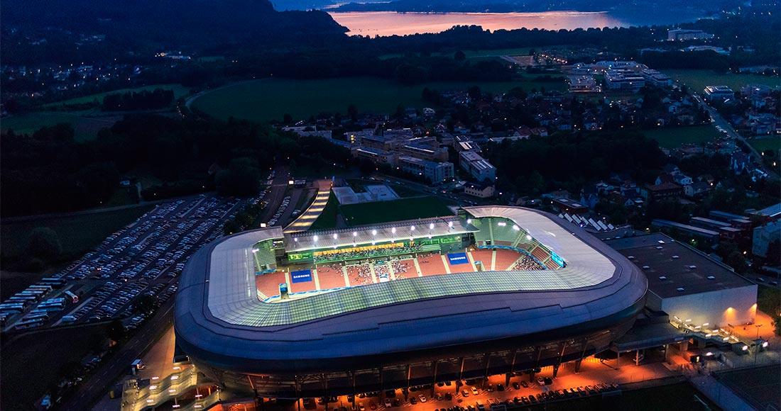 Wörthersee Stadion Klagenfurt Luftaufnahme - Fotograf Gert Steinthaler